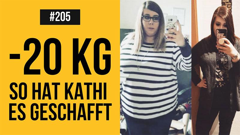 abnehmen ohne Diät, Kathi erzählt, wie sie 20kg verloren hat